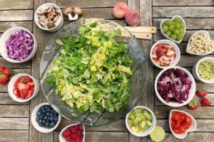 Dieta adecuada rica en antioxidantes